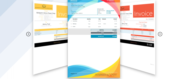 Invoice templates invoice and inventory software
